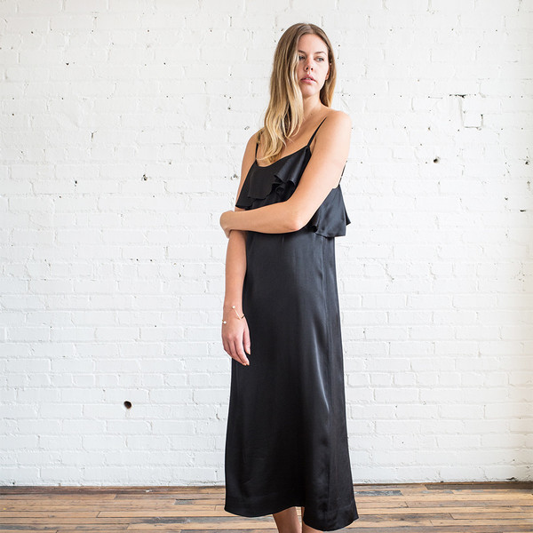 Apiece Apart Pedernal Slip Dress