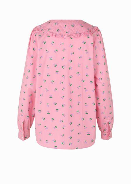 Cras Margo Shirt - Pink Cherry