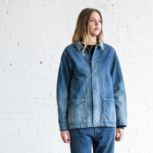 Chimala 12oz Denim Chore Jacket