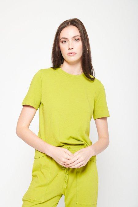 Raquel Allegra Boy Tee - Chartreuse