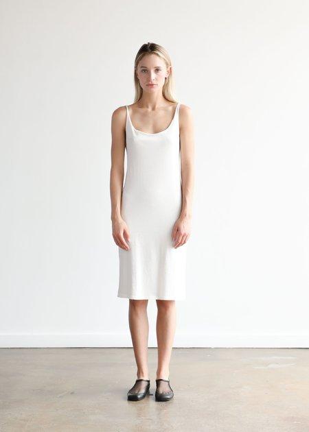 Raquel Allegra Layering Tank Dress - White