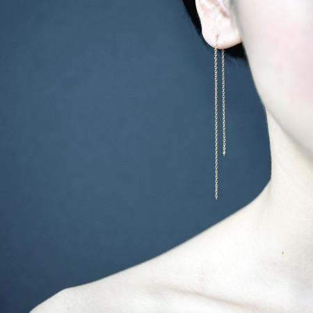 Shihara Chain Earrings 150mm
