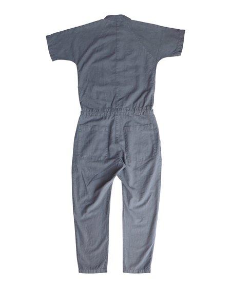 Unisex SEEKER Short Sleeve Jumpsuit - Charcoal