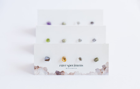 Rare Specimen Mix & Match Studs