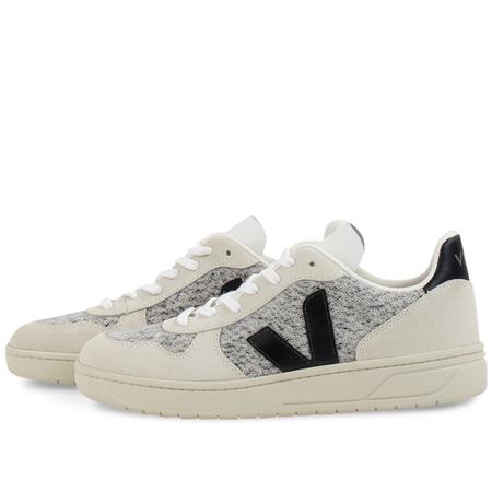 Veja v-10 Flannel Snow Shoes - Black