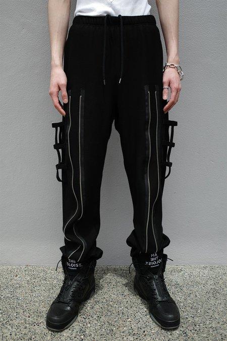 TAKAHIROMIYASHITA The Soloist. Bondage Jogger Front Zipper Sweatpant