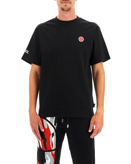 GCDS T-shirt with Logo - Black
