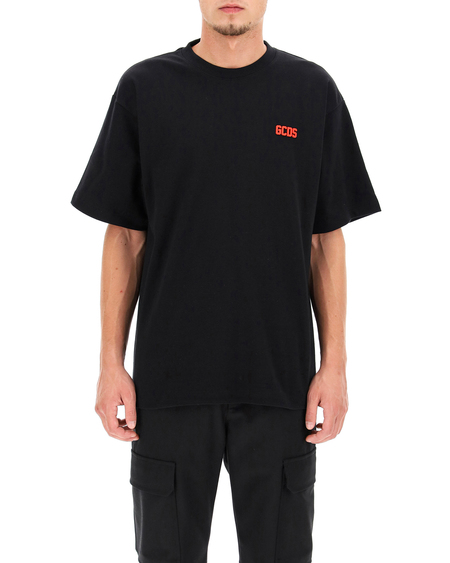GCDS T-shirt with Embroidered Logo