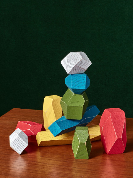 Fort Standard Colorful Balancing Blocks