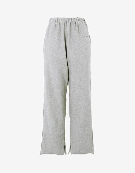 MM6 Maison Margiela Logo Sweatpants - Heather Grey