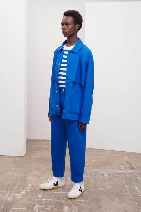 Unisex Kowtow Everyday Jacket - Workwear Blue