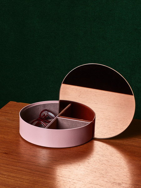 AYTM Rose Mirror Jewelry Box