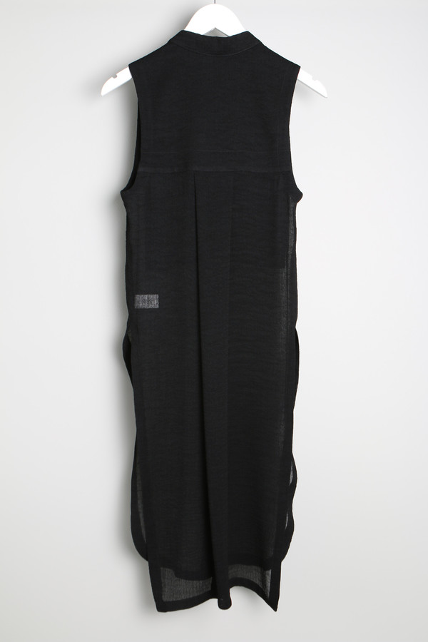 Helmut Lang Sheer Sleeveless Top
