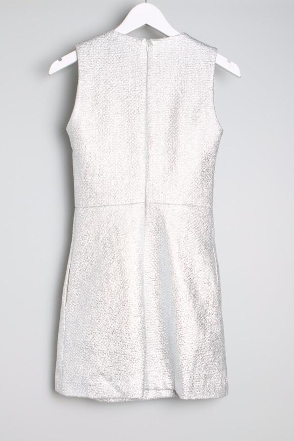 Maison Kitsune Silver Flore Dress
