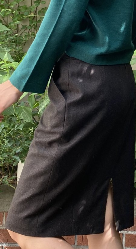 Vintage Chanel Skirt - Brown