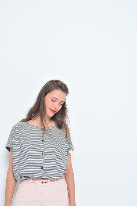 Des Petits Hauts | Jasou Button Up T-shirt