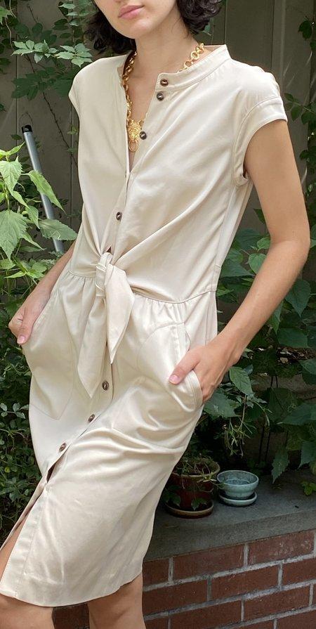 Vintage Escada Safari Dress - Khaki
