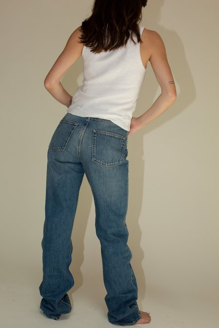 Our Legacy Spiral Cut Jeans - Coastal Wash