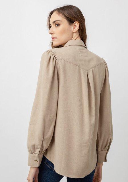 Rails Ada Long Sleeve Shirt - Heather Toffee