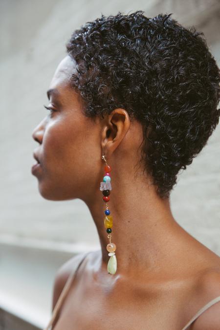 SVNR Handmade Lagos Earrings