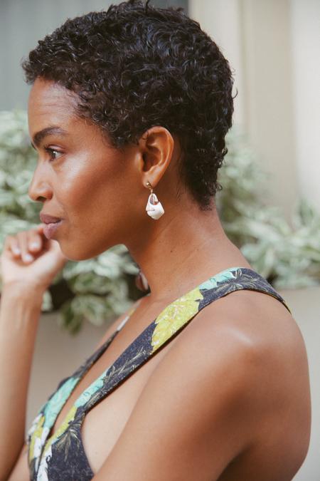 SVNR Droplet Earrings