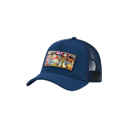 unisex Partch Trucker Hat - Navy