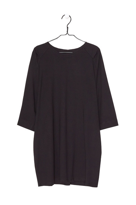 Kowtow Oversized Tee Dress - Black