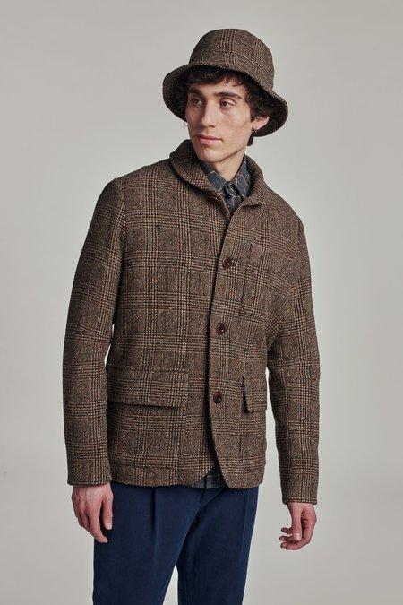 Delikatessen Wool The Winter Jacket - BROWN