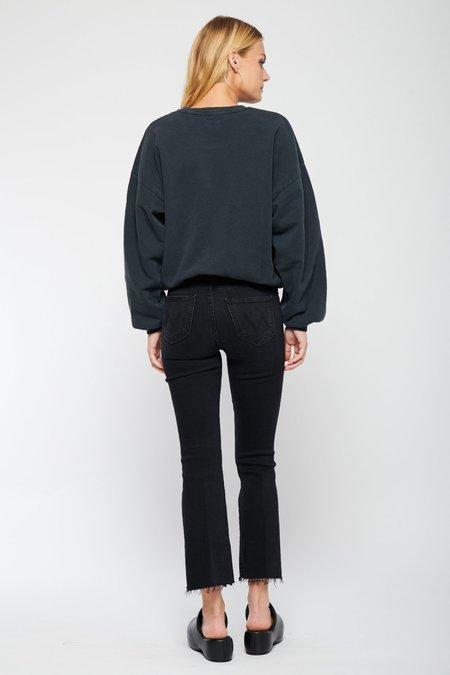 Mother Denim The Drop Square Sweatshirt - Stargazer