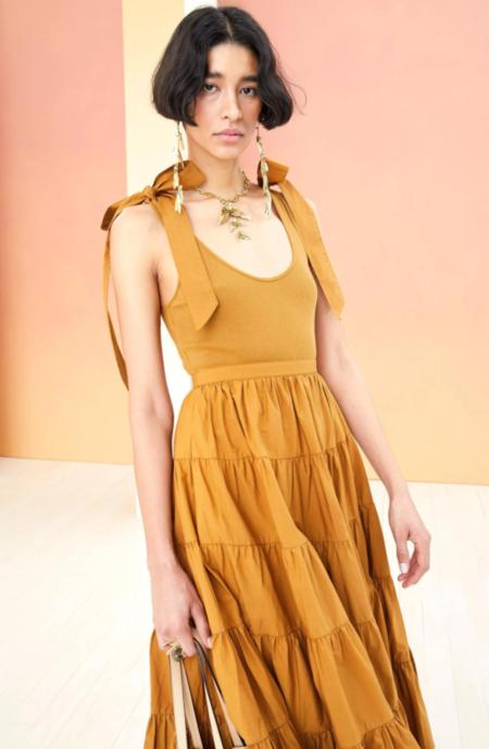 Ulla johnson hope dress - tapenade