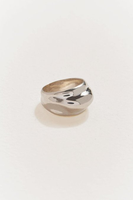 Pamela Love Classic Dome Ring - Silver