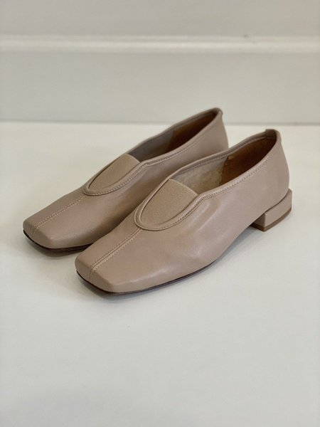 About Arianne Gillian Sepia Leather Flats