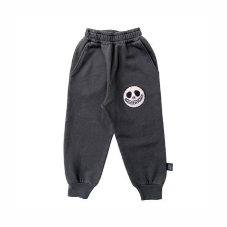 Kids LITTLE MAN HAPPY The Grin Sweatpants - Asphalt