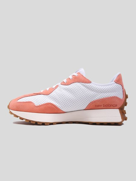 UNISEX New Balance MS327PN sneakers - White/Paradise Pink