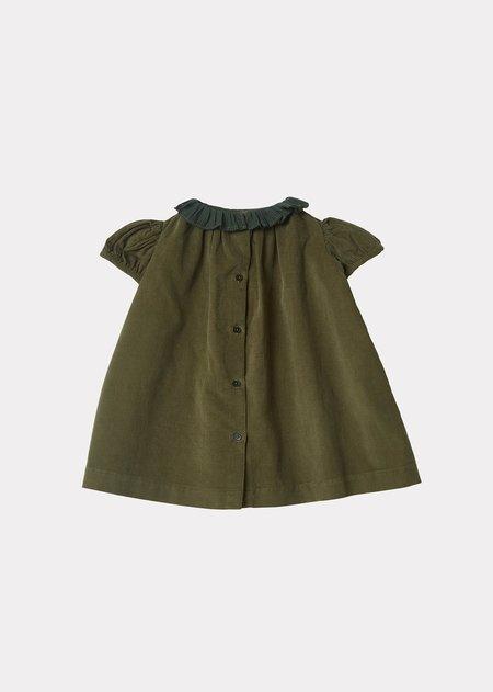 Kids Caramel Natta Dress - Olive