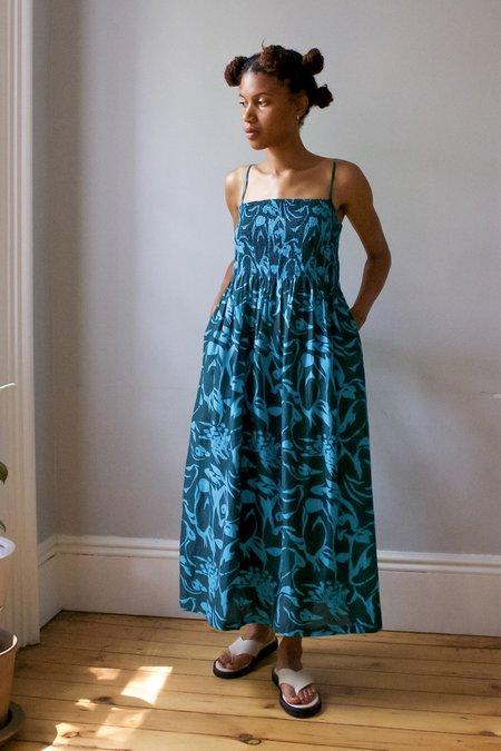 M.PATMOS Hester Dress - Splashy Teal
