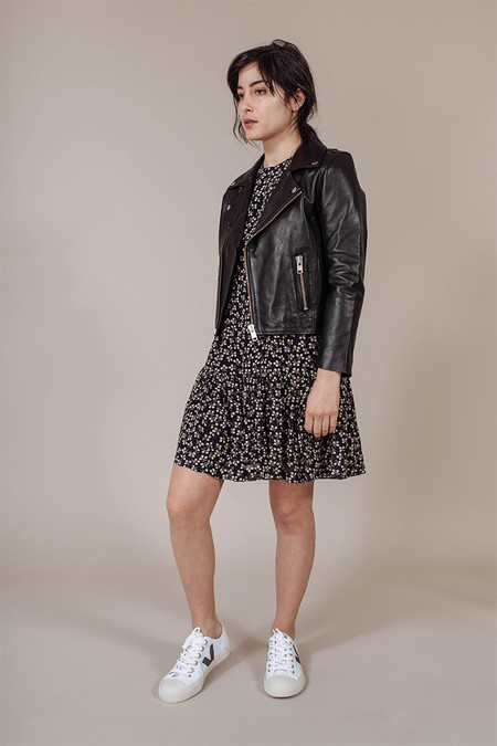 Ganni  Passion Biker Jacket in Black