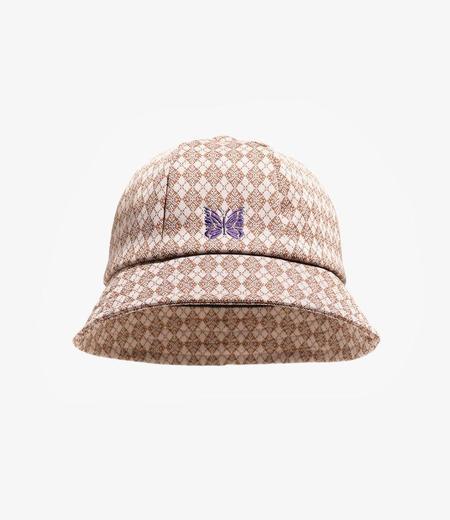 Needles Poly Jacquard Bermuda Hat - Argyle