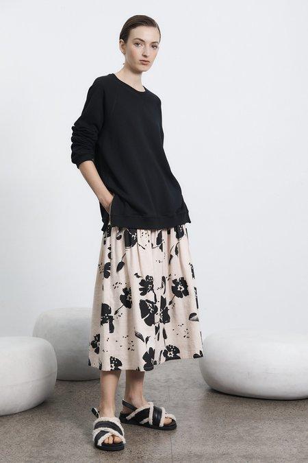 Milk & Thistle Dali Skirt - Poppy Print