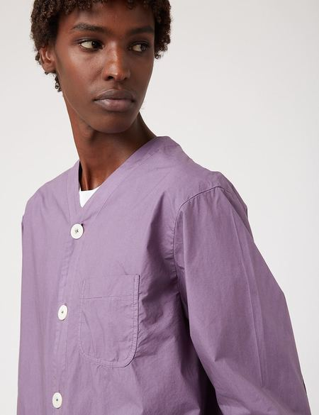 Bhode Railroad Shirt - Purple