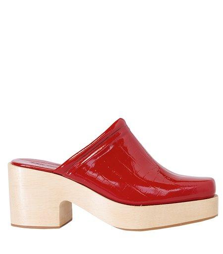 Rachel Comey Salta Clog - red