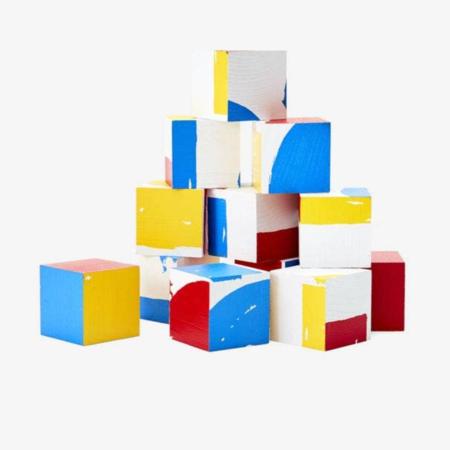 KIDS Areaware Herve Tullet's Blocks TOYS - Multi