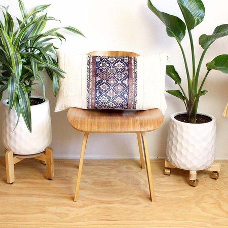 Norwegian Wood Velvet Rug Print Pillow