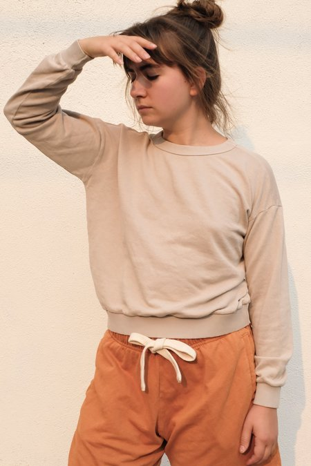 Jungmaven Yakama Cropped Sweatshirt - Canvas