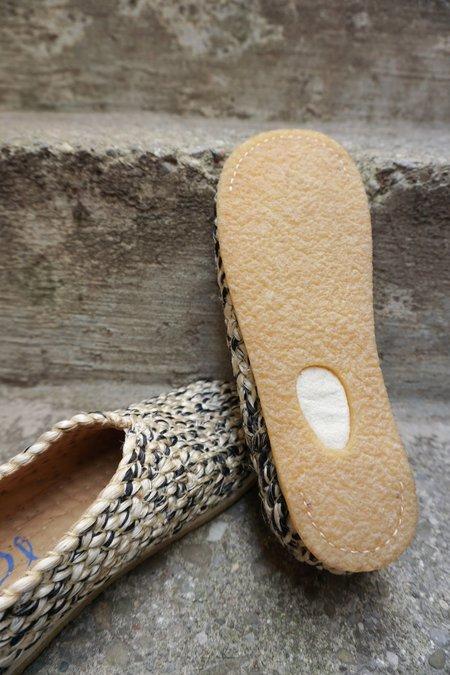 PLA BONANOVA MIX shoes - NATURAL/DARK MIX.