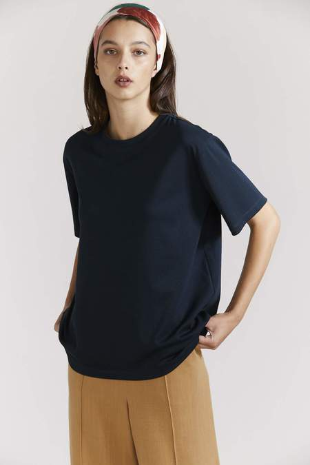 Laing Relaxed Boyfriend Tee - Ink