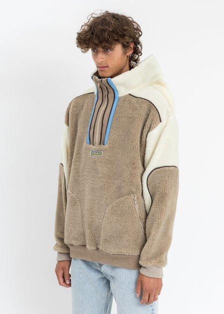 Y/project Clip Shoulder Fleece Sweater - Multicolor