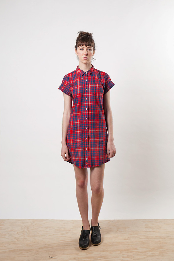 Bridge & Burn Loren Indigo Plaid