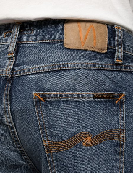 Nudie Jeans Gritty Jackson Regular Fit Jeans - Far Out Blue