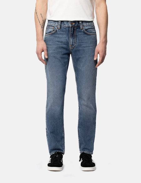 Nudie Jeans Gritty Jackson Regular FitJeans - Far Out Blue
